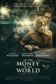 Resultado de imagen de cartel all the money in the world